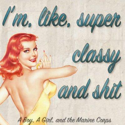 Super Classy // aboyagirlandthemarinecorps.com